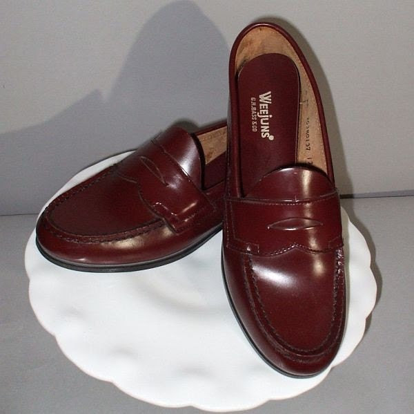 NOS Vintage 70s Bass Weejuns Shoes Original Penny by ...