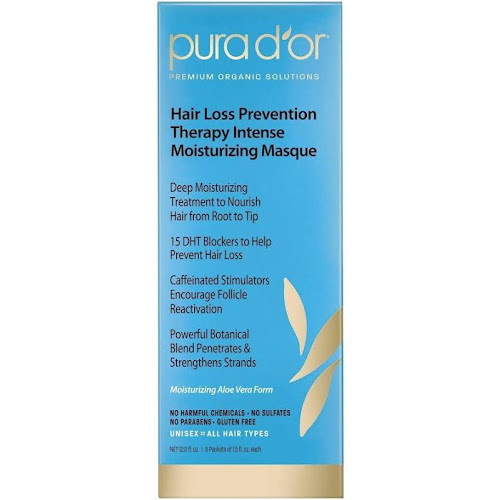 Pura D'or Hair Loss Prevention Therapy Intense Moisturizing Masque - 12 fl oz