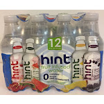 Hint All Natural Fruit Infused Water Variety Pack - 12 pack, 16 fl oz bottles
