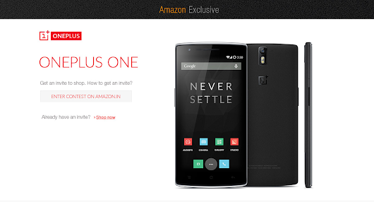OnePlus One- Amazon.in Exclusive