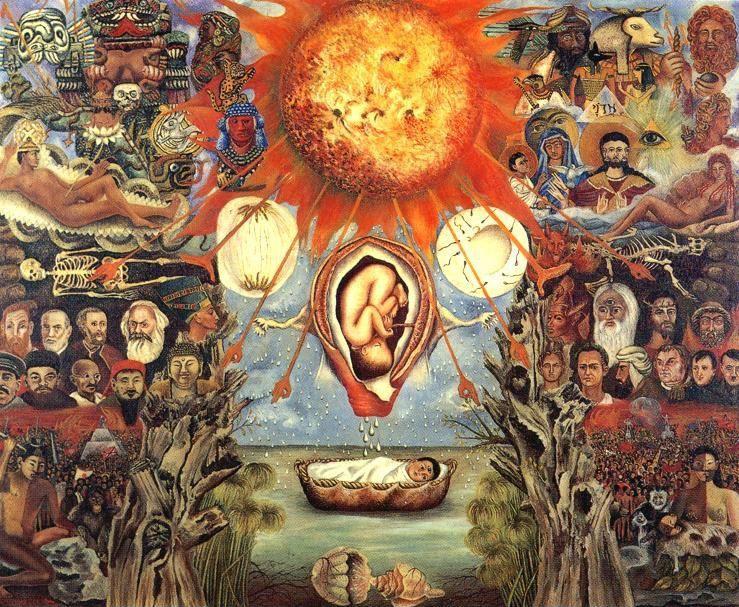 Frida Kahlo. Moses.