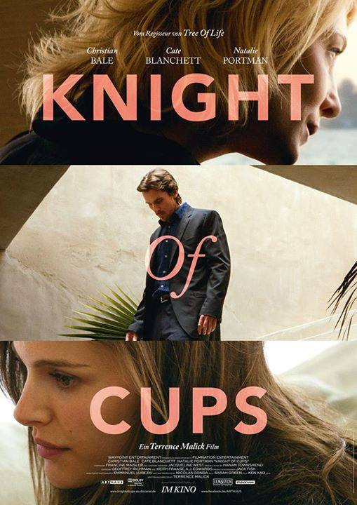The German Poster For 'Knight Of Cups' -