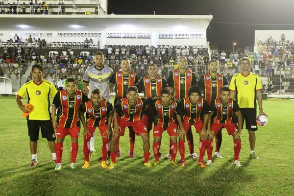 Jogando em Campina Grande, Globo empatou em 1 a 1 com Treze