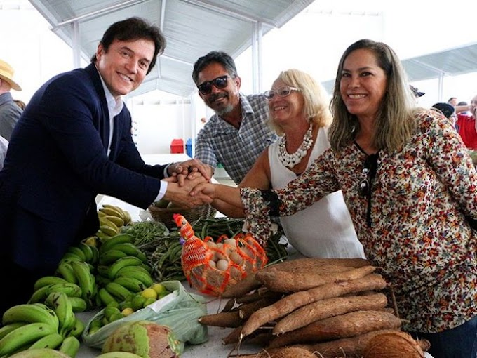 Governo inaugura Central de Agricultura Familiar e beneficia 1.200 produtores