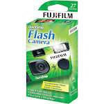 Fujifilm Quicksnap Disposable Film Camera, 35mm, Green