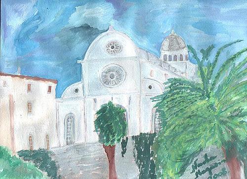 Šibenska katedrala by XVII iz Splita