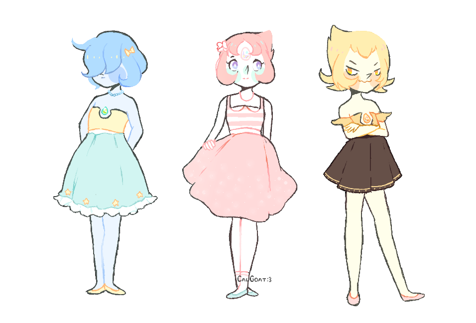 Pearls and cute dresses