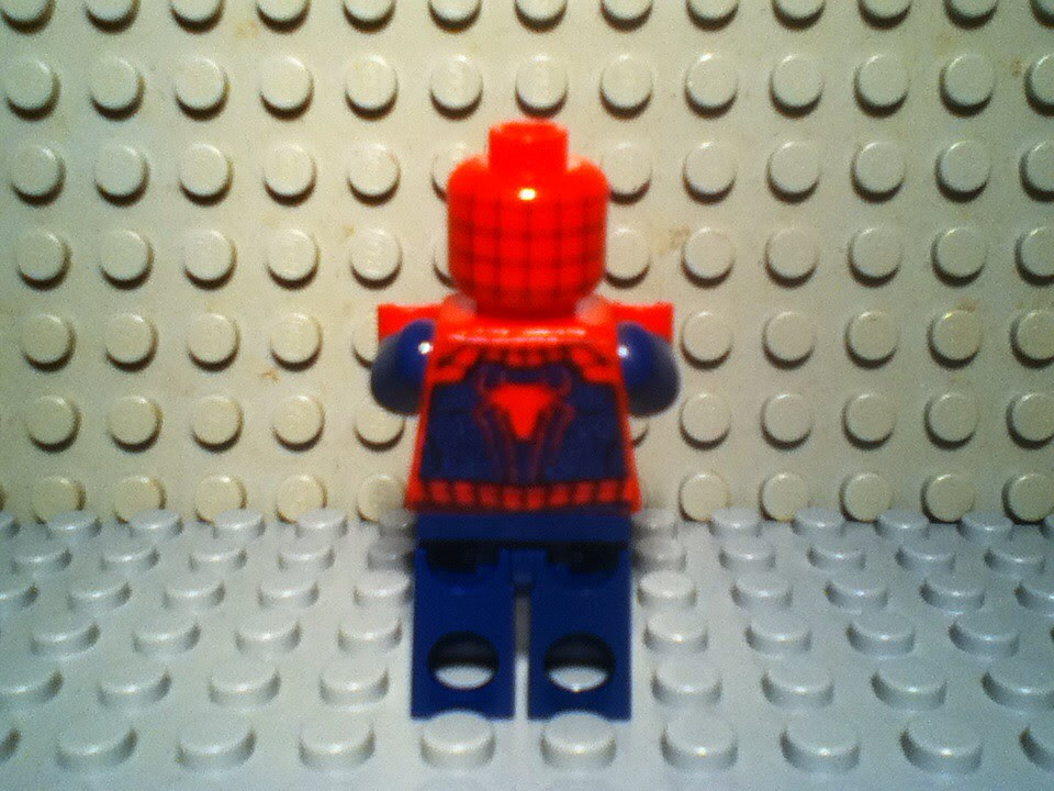 Lego Amazing Spider Man Sdcc 2013 Torso Credit To
