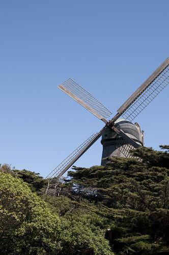 Dutch Windmill, Golden Gate Park