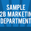How to Organize a B2B Marketing Department [Infographic] | Lydia Vogtner
