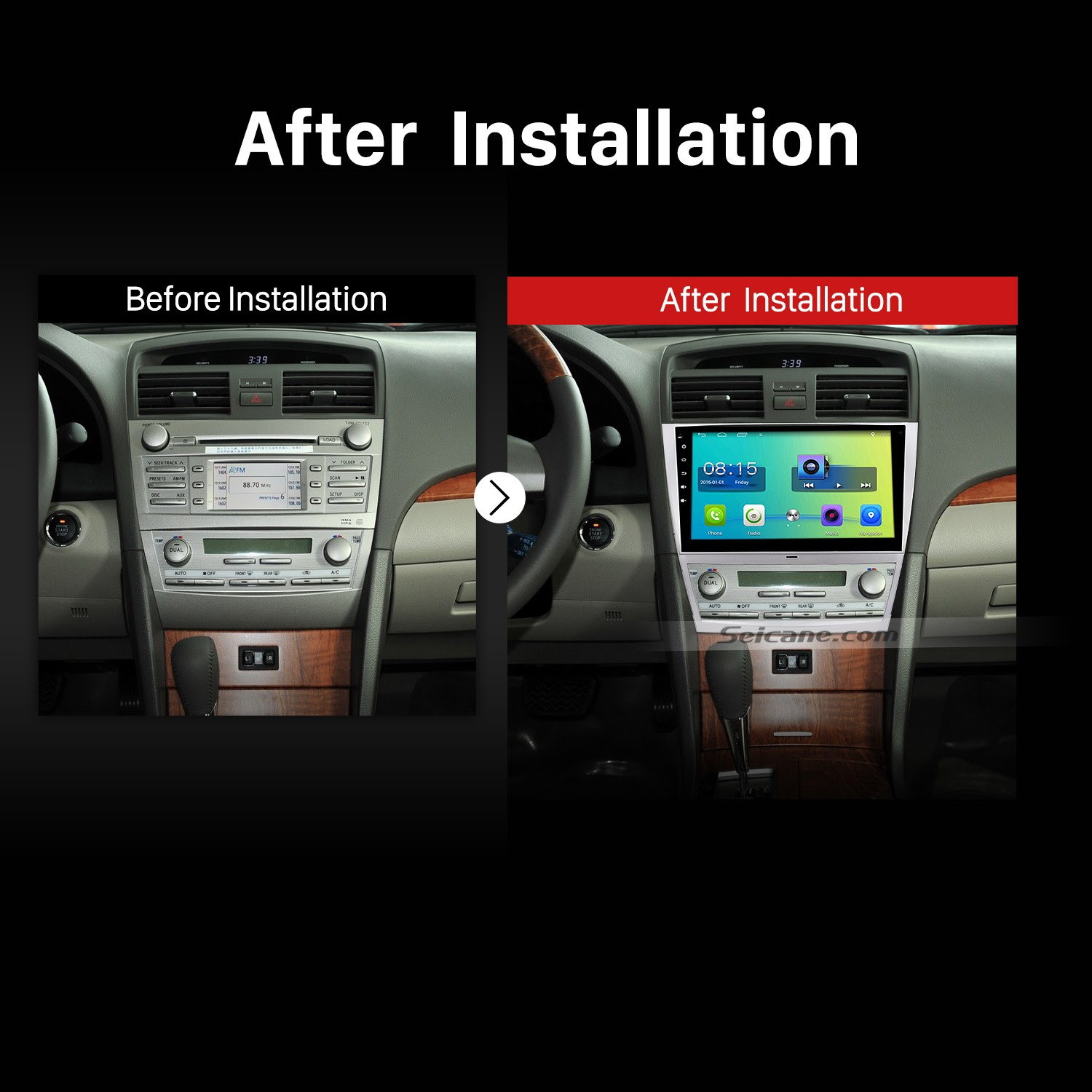 Hummer H3 Stereo Removal