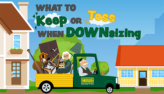 What to Save, Donate, or Toss When Downsizing