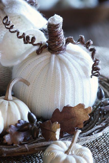 StoneGable Sweater Pumpkins