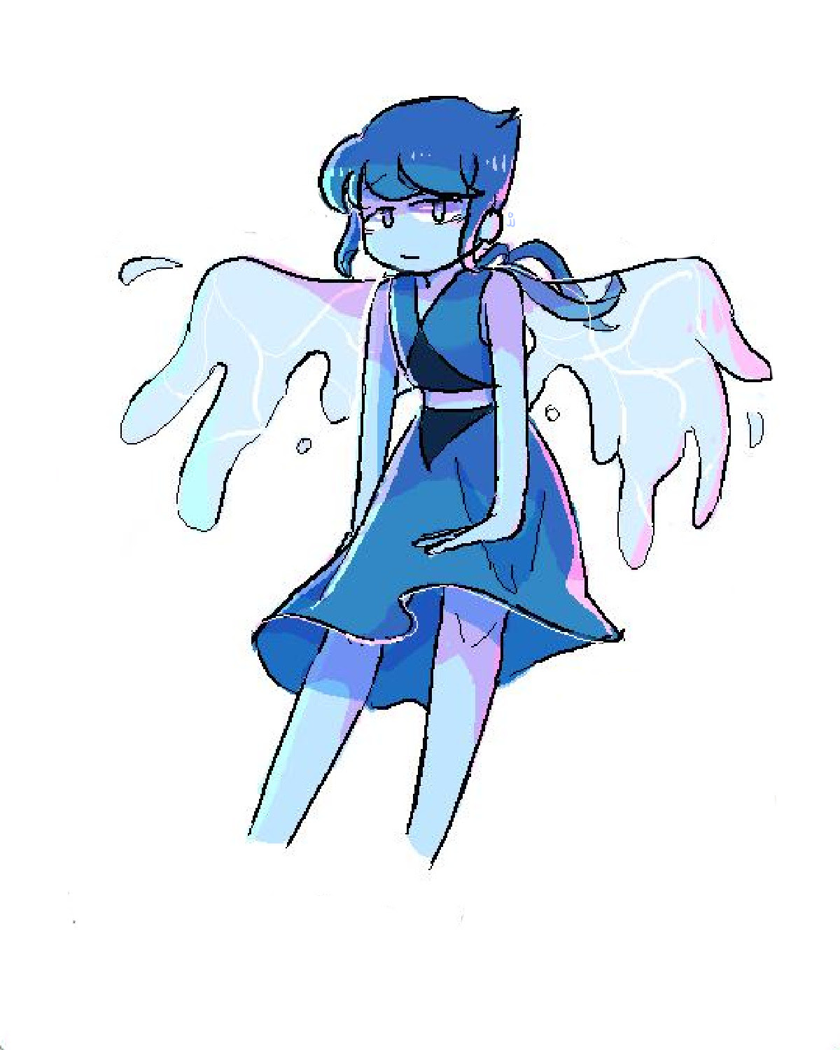 i drew a lapis in my drawpile >:^)!!!