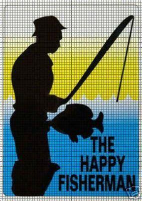 The Happy Fisherman Crochet Pattern