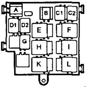 98 03 Saab 9 3 Fuse Diagram