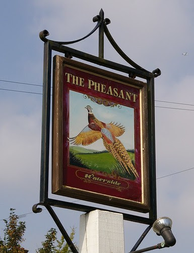 Pheasant sign