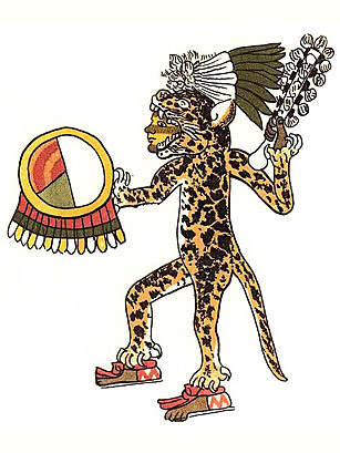 Aztec jaguar warriors