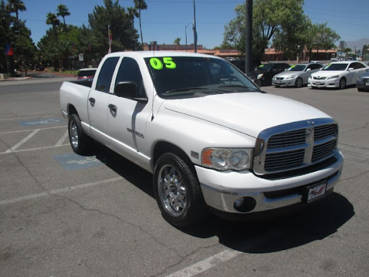 Used 2005 Dodge Ram 1500 Laramie Quad Cab Long Bed 2WD for Sale in Las Vegas NV 89110 RT Motorsports Auto Sales