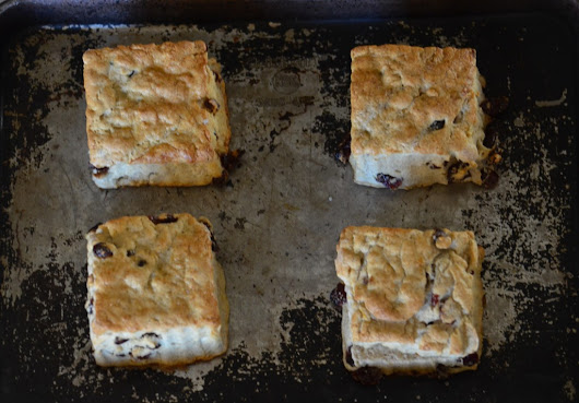 Cranberry Orange Scones (gluten free) | Kompromised Kitchen