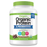 Orgain USDA Organic Plant Protein Powder, 2.74-pounds, Chocolate