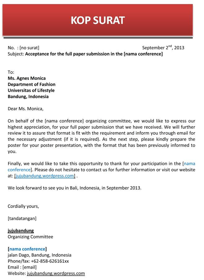 Contoh Cover Letter Dalam English Contoh Waouw