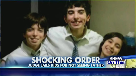 3 Kids Sent to Juvenile Detention for Refusing to See Their Dad?!