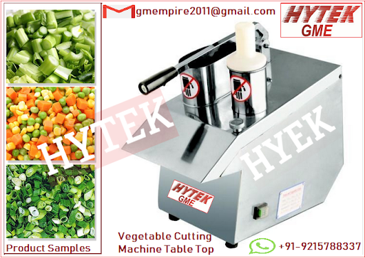 Vegetable Cutting Machine Table Top