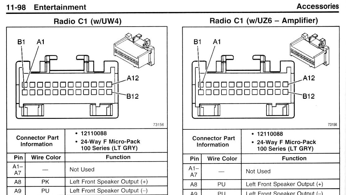 2005 Pontiac Sunfire Radio Wiring Diagram Collection