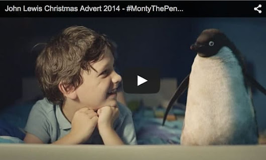 Try Not To Cry with Monty the Penguin in John Lewis Christmas Advert | udopt.co.uk