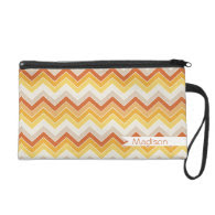 Autumn {chevron pattern} wristlets