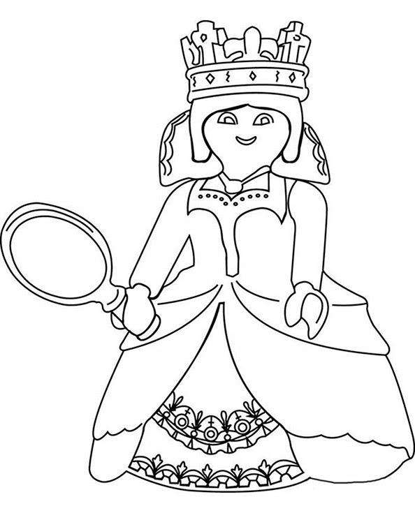 ausmalbilder playmobil meerjungfrau - coloring and drawing
