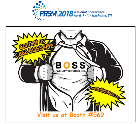 Come check out BOSS's Superpowers at PRSM 2018 - Boss