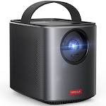 Nebula by Anker Mars II Pro 500 ANSI Lumen Portable Projector, Black, 720p Image, Video Projector, 30 to 150 Inch Image TV Projector, Movie Projector
