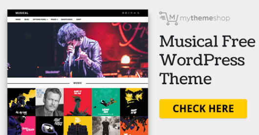 Musical - Free WordPress Theme @ MyThemeShop