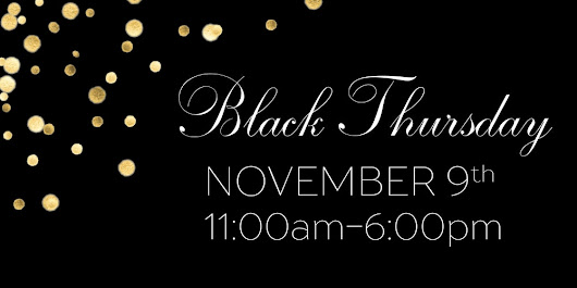 Black Thursday: Benefiting North Bay Fire Victims