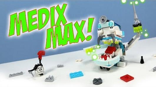 The Medix Max Continues The Lego Mixel Series 8 Horror