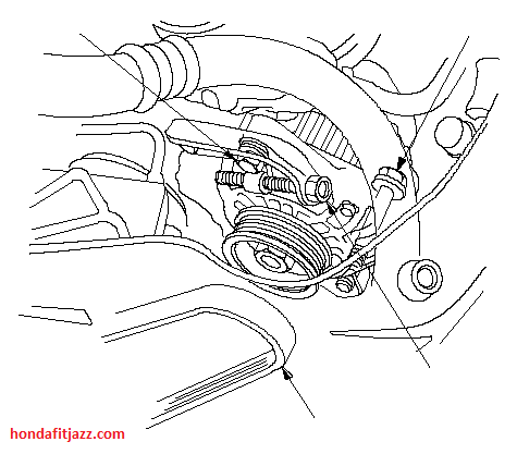 Circuit Electric For Guide: 2007 honda fit engine diagram