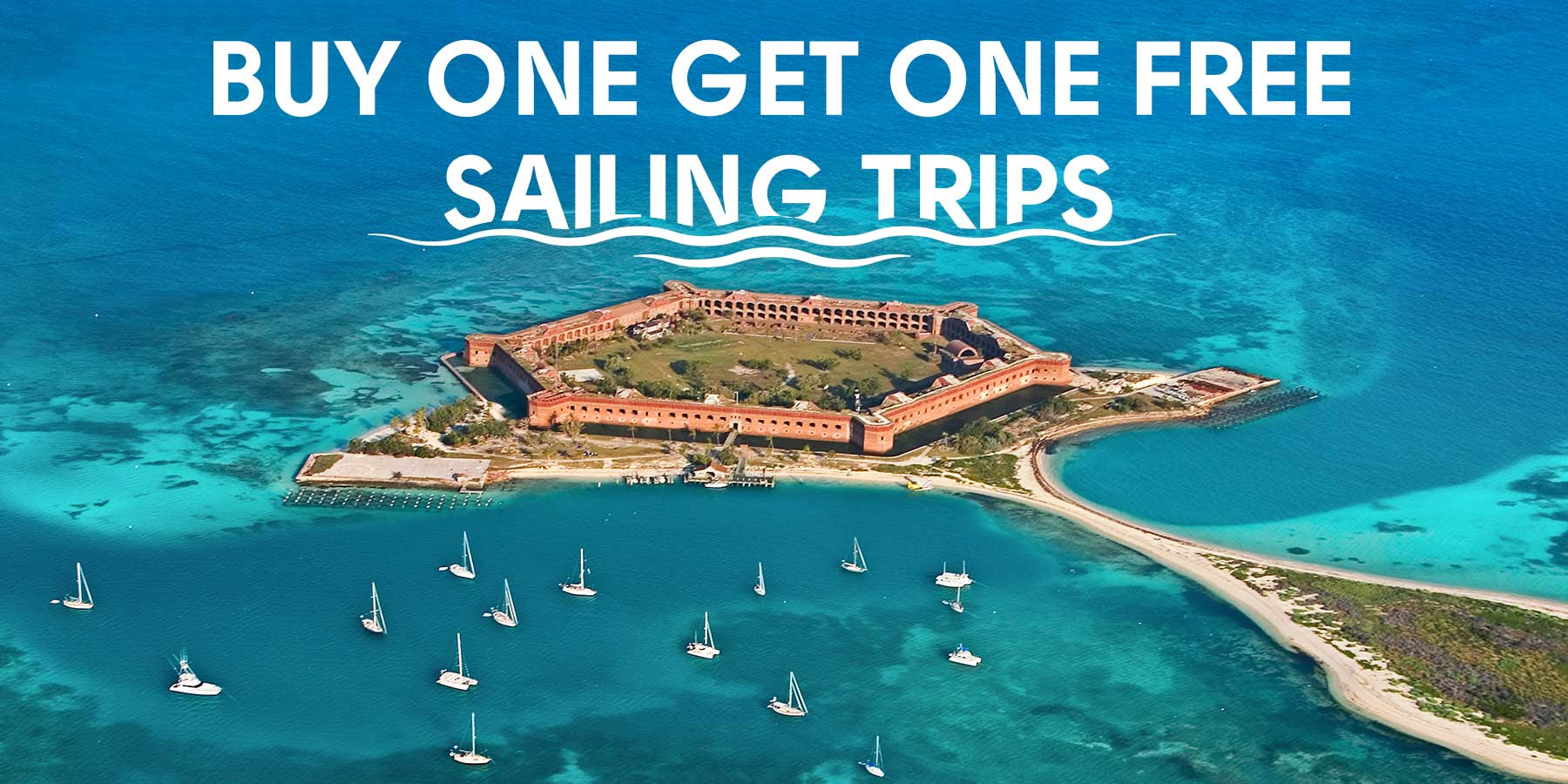 Buy one get one free on sailing trips