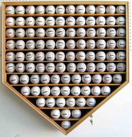 21 Mlb Baseball Display Case Cabinet Holder W 98uv Protection