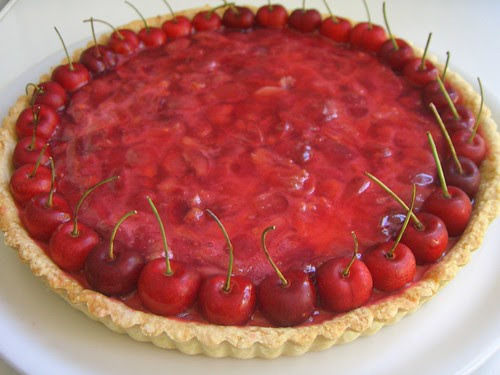 Crostata ciliegie e panna cotta di Daniela Cuzzocrea