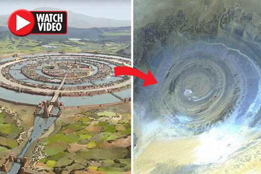 Atlantis FOUND? Richat Structure in Sahara matches Plato's claims | Daily Star
