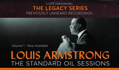 Win the complete 4 volume Legacy Series of previously unheard recordings from Louis Armstrong.