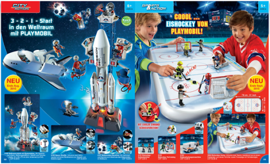 ToyzMag.com » Playmobil catalogue 2016 : le retour des Playmospace !