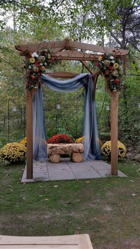 The 25  best Wedding pergola ideas on Pinterest   Wedding
