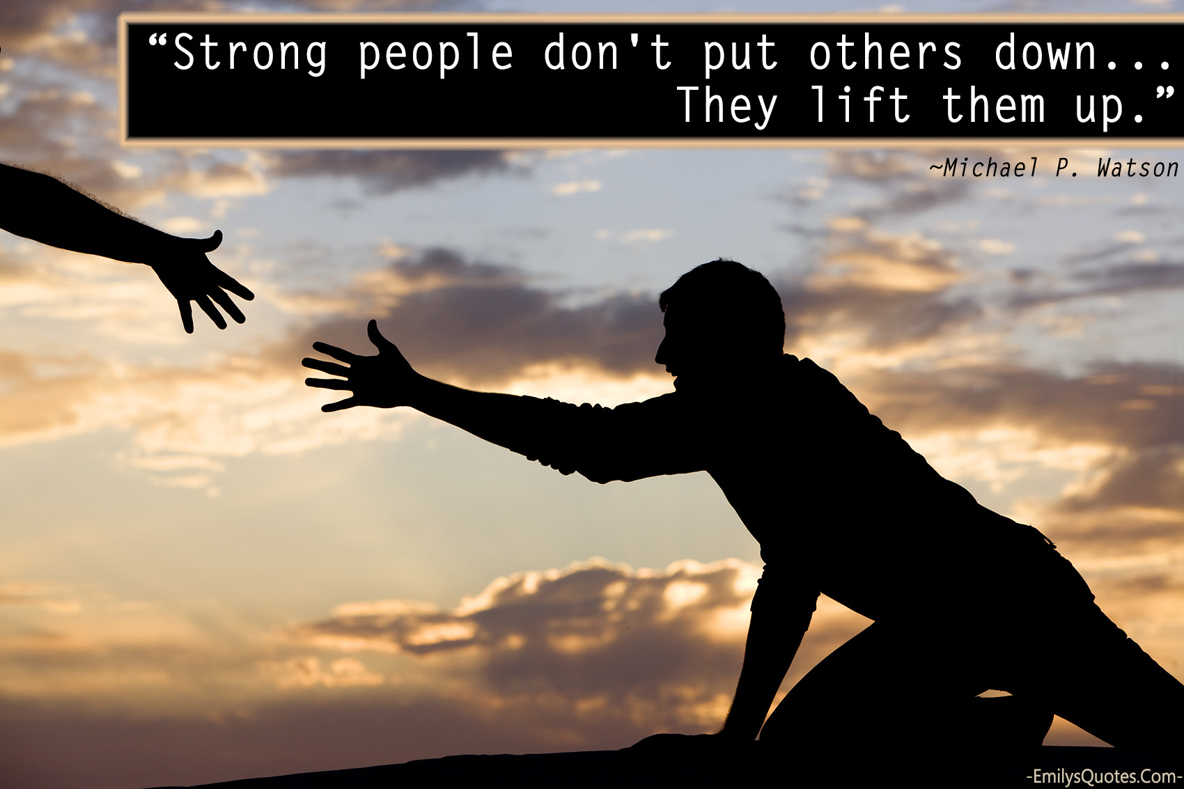 Strong People Dont Put Others Down They Lift Them Up Popular