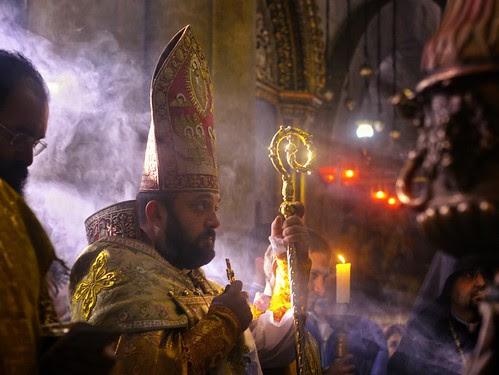 blessing the bishop por David Mor