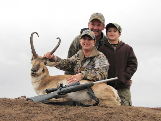 Pronghorn Season Texas - Wrapping up a successful year