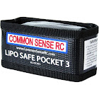 Common Sense RC Lipo Safe Pocket 3 Charging/Storage Bag for 3S Lipo Battery