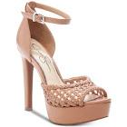 Jessica Simpson Beeya Ankle Strap Platform Sandals